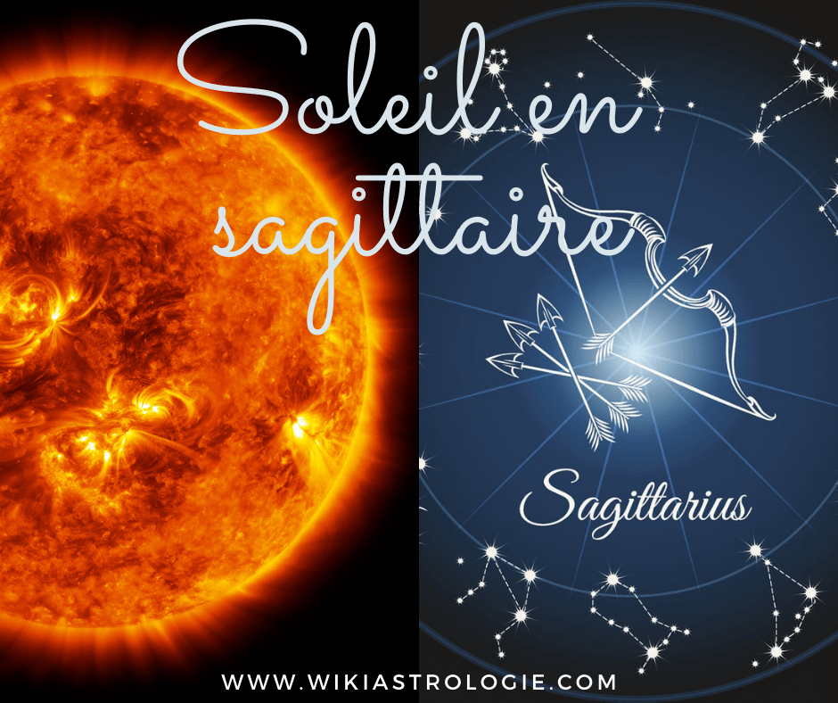 Soleil en sagittaire