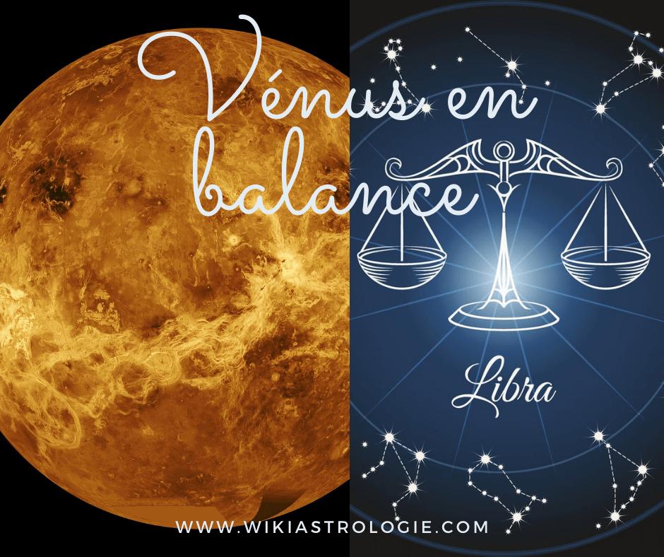 Vénus en balance