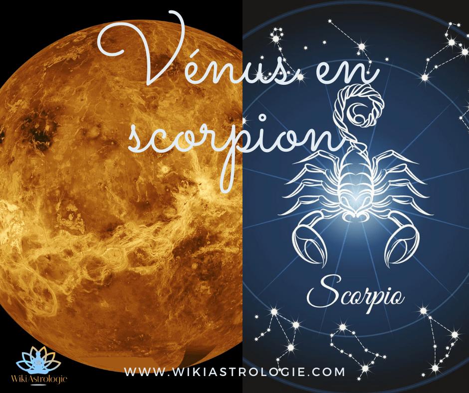 Vénus en Scorpion