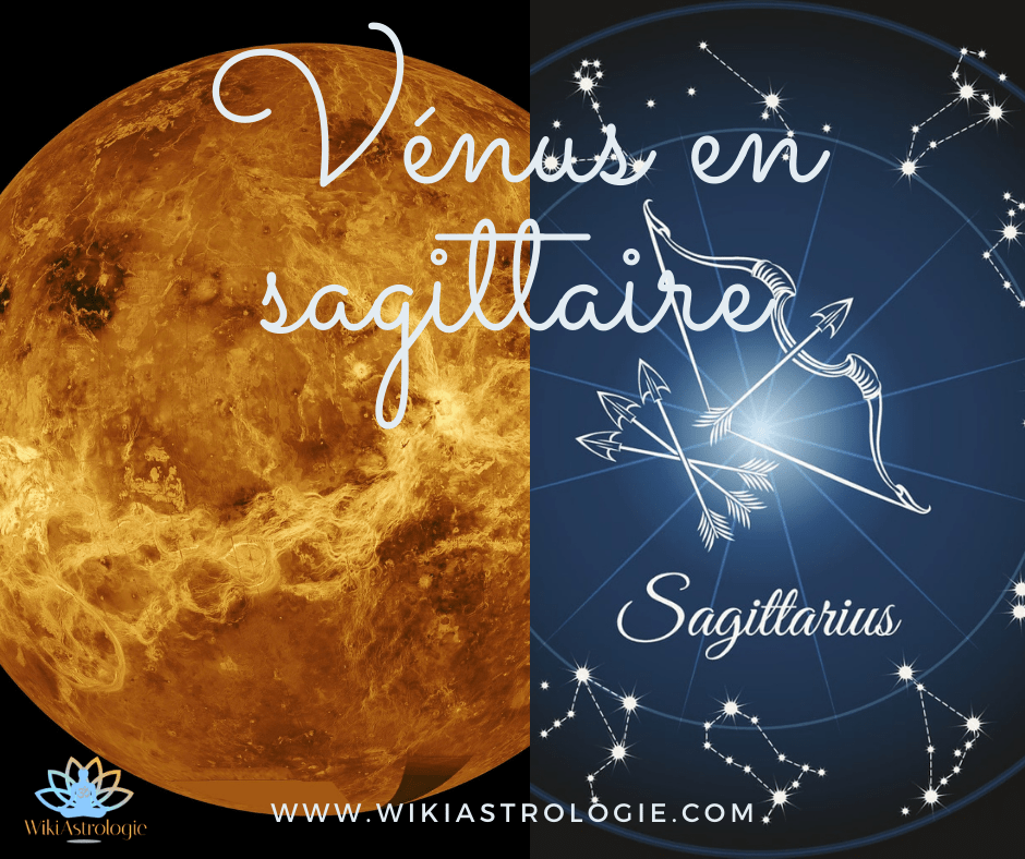 Vénus en Sagittaire